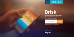 Preview Page from Brisk | PatternTap | ZURB Library