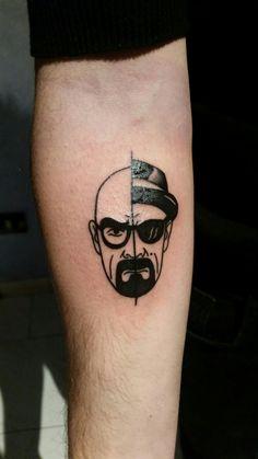 Walter White/Heisenberg tattoo #tattoo #BreakingBad #tatuaggio #ink #bryancranston #heisenberg #walterwhite