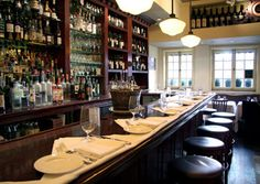 Babbo, 110 Waverly Place, New York City    Set in an old Greenwich Village carriage house, Babbo is the restaurant that launched Mario Batali's career.