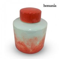Tibor Stoneware Red (18 X 18 X 22 Cm) By Homania