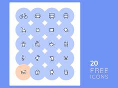 20 Free Icons by Alexey Radzhabov