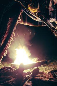 #camping #campfire