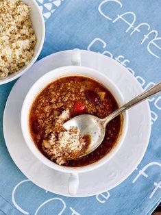 Chilli con carne vás díky obsaženému chilli zaštípe na jazyku a prohřeje zevnitř, ideální do sychravého podzimu.       1 lžíci oleje  1 ve...