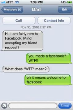 15 Awkwardly Funny Texts From Parents | Her Campus