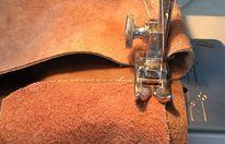 Шьем из натуральной кожи