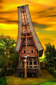 Most Beautiful Pages: Toraja Achitecture