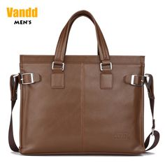 Aliexpress.com : Buy Vandd Men's Brown Soft PU Leather Zipper Tote Briefcase Fashion Shoulder Messsenger Bag from Reliable sport men bag suppliers on Vandd Men. $53.00
