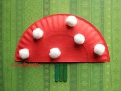 mushroom crafts for kids