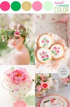 Color Story | Sweet   Romantic Color