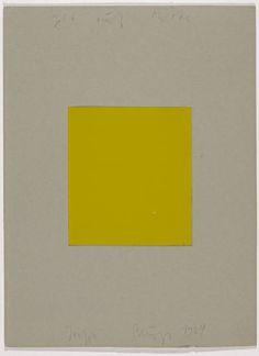 Yellow on Centre - Joseph Beuys