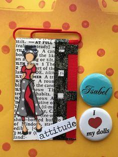 Paper clips by Libelula Isabel.