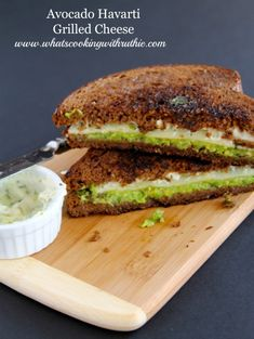 Avocado Havarti Grilled Cheese - Whats Cooking With Ruthie