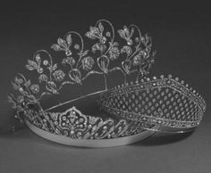 Faberge tiaras belonging to the Duchess of Westminster