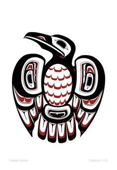 Haida Raven | Canadian Art Prints & Winn Devon Art Group Inc.