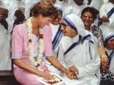 Mmadre Teresa de Calcuta y le Princesa de Diana de Gales imagenes - Buscar con Google