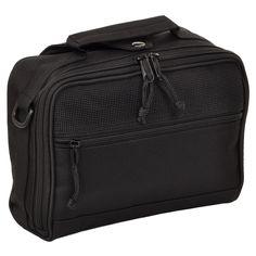 Sandpiper Toiletry Bag / Personal Organizer in Black