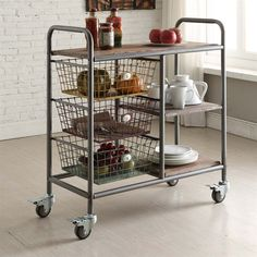 Shop 4D Concepts  148022 Urban Loft Kitchen Trolley at ATG Stores. Browse our kitchen islands & carts, all with free shipping and best price guaranteed.