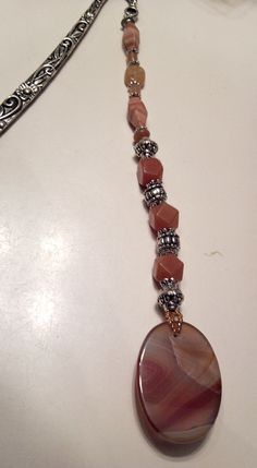 Genuine Gemstone Bookmark by Marakeshmanor on Etsy, $29.99  https://www.etsy.com/listing/107263359/genuine-gemstone-boolmark