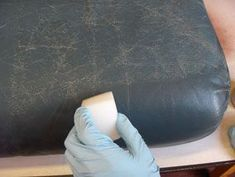 Easy to follow, step by step guide on how to restore old and worn leather items to look brand new!