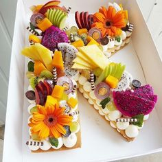 cake lettering \ cake lettering + cake lettering writing + cake lettering ideas + cake lettering alphabet + cake lettering fonts + cake lettering how to make Pretty Cakes, Cute Cakes, Beautiful Cakes, Amazing Cakes, Number Birthday Cakes, Number Cakes, Food Cakes, Cupcake Cakes, Cookie Cakes