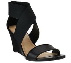 Marc Fisher Stretch Criss-cross Wedges - Cecila