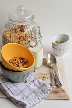 Kokos Granola (von sugar meets chili)