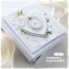 First Communion Cards, Invitation Cards, Invitations, Wedding Boxes, Cute Cards, Cardmaking, Projects To Try, Paper Crafts, Scrapbooking