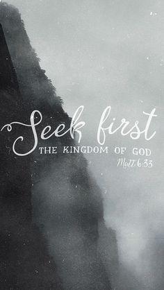 Trachtet am ersten nach dem Reich Gottes und nach seiner Gerechtigkeit, so wird euch solches alles zufallen. Matthäus 6:33 DELUT