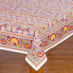 Leela Indian Tablecloth | World Market