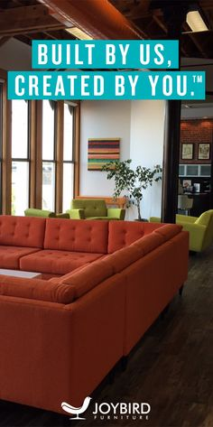 Make a Statement - Don't be generic with your sofa choice. Our sofas get attention. Fully custom furniture. Free delivery + Free returns + lifetime warranty.  Request free swatch samples today!