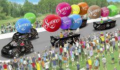 Tour de France 2014: voici la Caravane publicitaire SENSEO!