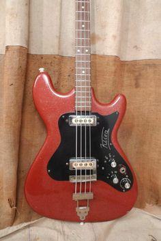 1960's Klira Arkansas Bass Rio Vintage Sparkle