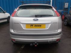 Ford Focus Fitted With A Witter Fixed Flange Towbar At Pf Jones Manchester