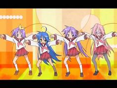 HD-Lucky Star Opening Creditless  Lucky stars is a fab anime _ its so fun 2 watch!^^^^^^^^^^^^^^