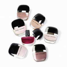 ... Marc Jacobs Beauty runway nail shade,  White Snow   NYFW15