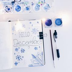 "508 Likes, 15 Comments - - ̗̀ bullet journaling ̖́- (@goodoldbujo) on Instagram: ""happy 1st of december ❄️☃️ . . . . . . . . #bulletjournaling #showmeyourplanner #organised…"""