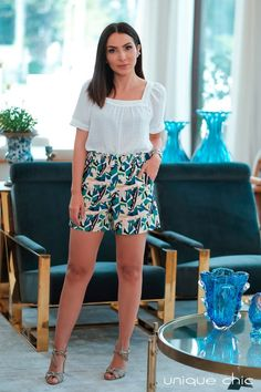 Amy Jackson, Shorts, Spring Outfits, Ideias Fashion, Short Dresses, Mini Skirts, Blazer, Formal, Blouse