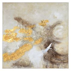 Ren Wil Beaumont x Framed Abstract Painting on Canvas Silver Home Decor Wall Decor Paintings and Prints Frames On Wall, Framed Wall Art, Framed Prints, Canvas Prints, Framed Canvas, Abstract Canvas Art, Hand Painted Canvas, Neutral Colour Palette, Rose Buds