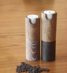 Sculpture for the Table: Sophisticated Salt & Pepper Mills | Apartment Therapy