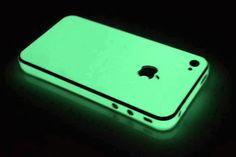 Coque fluorescente