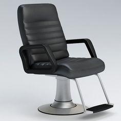 Barber Chair 3D Model - 3D Model