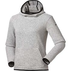 NWT Nike Women s Therma Fit Hoodie New With Tags! Nike Women s Therma Fit  in Heather Grey with Black trim. 724733c2e7c