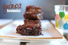 A Nourished Family + {Quinoa Brownies} | Nosh and Nourish