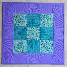 Learning CurveI'm learning to free motion quilt on a new-to-me used Babylock Tiara mid-arm sewing machine. I have wanted a larger machine for free motion quilting for years. Since I began researching sit-down long-arm machines, Bernina, Gammill, Juki and other sewing machine companies have begun manufacturing their own.I've had my Babylock Tiara, the first generation, for about two months. It is essentially the same machine as Handi Quilter's Sweet Sixteen. As seen in the ...