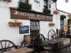 Johnnie Fox's Pub, one of Ireland's oldest, highest, & most famous traditional Irish pubs, is located in Glencullen on top of the Dublin mountains.. www.jfp.ie