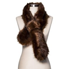 Cold Weather Scarves Brown Solid - Merona, Women's