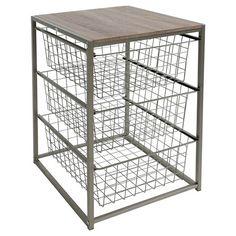 3 Drawer Closet Organizer - Grey Birch - Threshold : Target