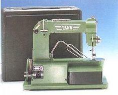 """Elna 1 """"Grasshopper"""" circa 1950, a quality Swiss sewing machine"""