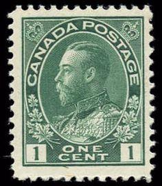 Canada #104i, F-VF, MNH