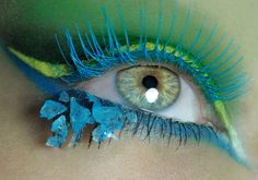 Cris Alex is a professional makeup and special effects artist based out of Los Angeles, California. See the portfolio or read the latest updates. Eye Makeup Art, Kiss Makeup, Eye Art, Beauty Makeup, Fun Makeup, Scary Makeup, Hair Beauty, Pretty Eyes, Cool Eyes